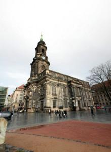 Kreuzkirche Dresden, Sachsen, Deutschland
