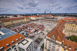 Der Altmarkt Dresden
